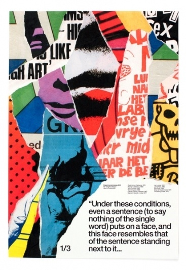 It's Nice That : Major graphic design show set to open in New York featuring the best work of the millennium #print #poster