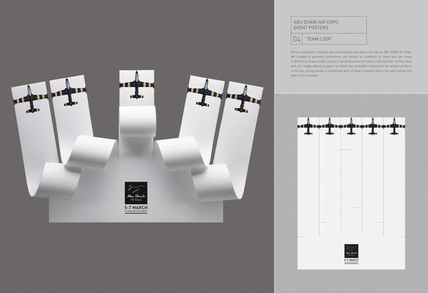 Abu Dhabi Air Expo team loop #poster