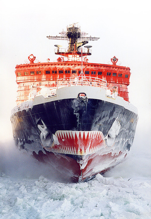 Photography(Russian Arktika class nuclear powered Icebreaker Yamal, via ferdinand von portus) #photography