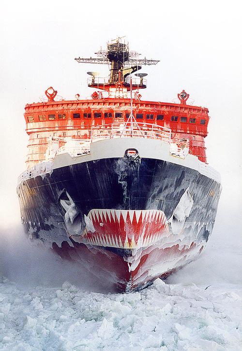 Photography(Russian Arktika class nuclear powered Icebreaker Yamal, viaferdinand von portus) #photography