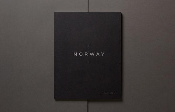 Norway on Behance #logo #norway #minimal