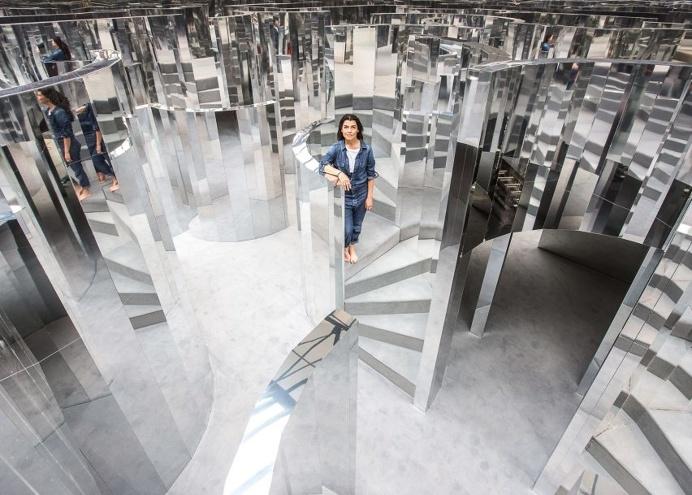 Es Devlin mirror-maze
