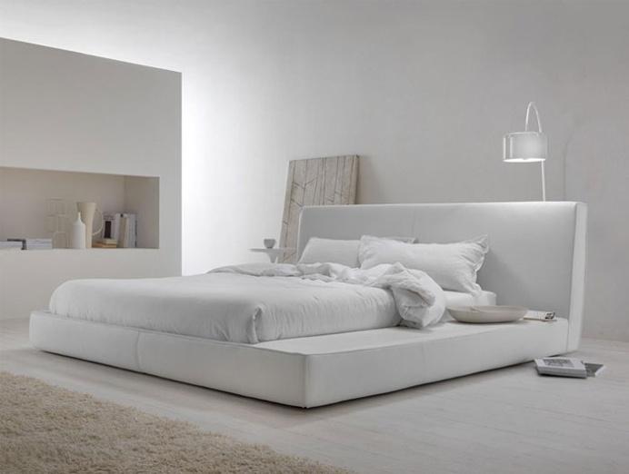Snow White Contemporary Bedroom