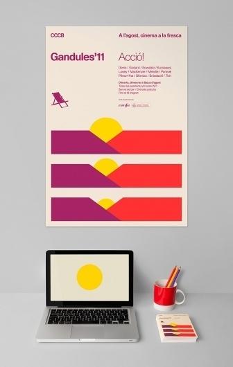 Gandules'11 | Hey #stationary #portfolio #identity #poster