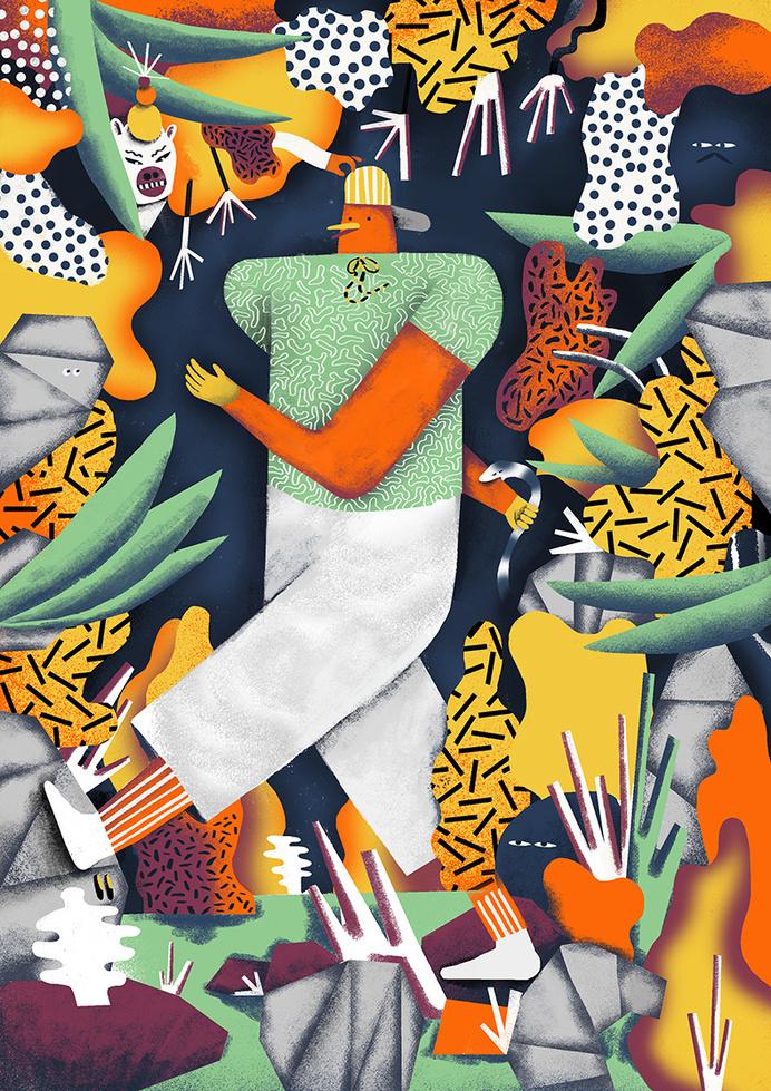 Karol Banach #illustration