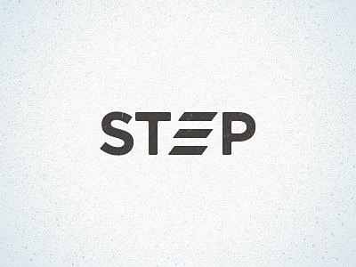 Dribbble - Step Logo by Andrew Knapp #logo #logotype #stairs #steps #step #climb
