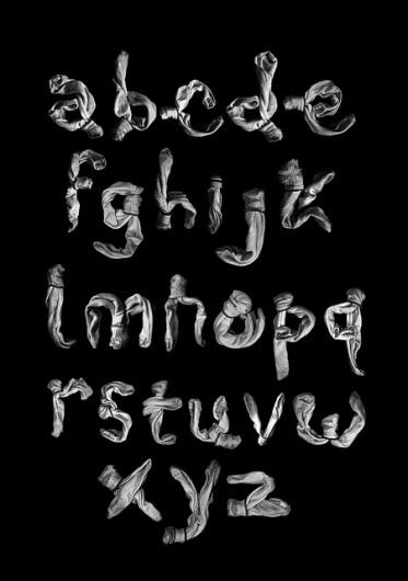 Amour de Typographie | hangaroundtheweb #socks #alphabet #typography