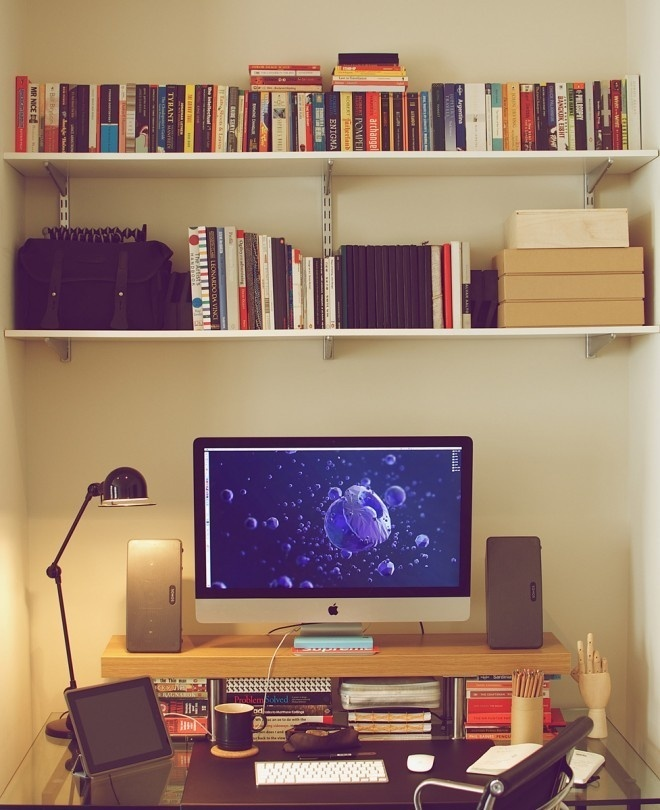 'Swift Ideas' – Kristian's workspace #office #desk #workspace