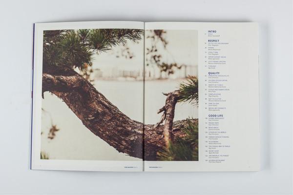 Pure Magazine on Behance #magazine