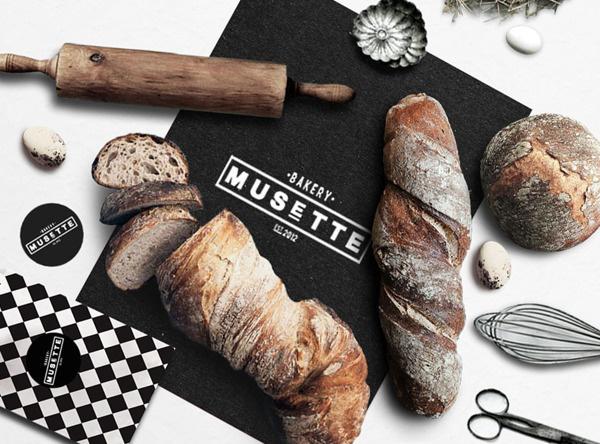 MUSETTE bakery #bakery #packaging #design #identity #desiign #logo