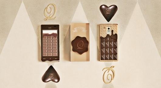 SH-04D|Q-Pot. OFFICIAL WEB SITE #chocolate #cellphone #mobile