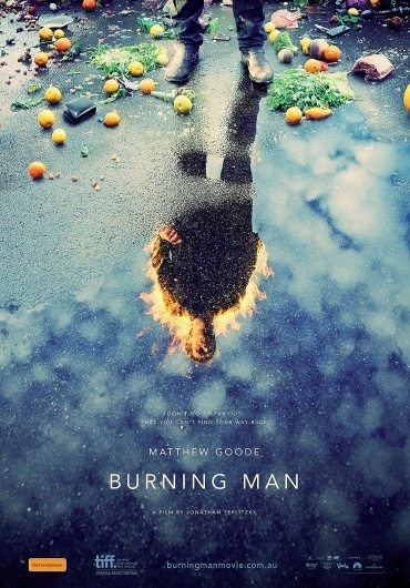 "Movie Poster of the Week: ""Burning Man"" on Notebook | MUBI"