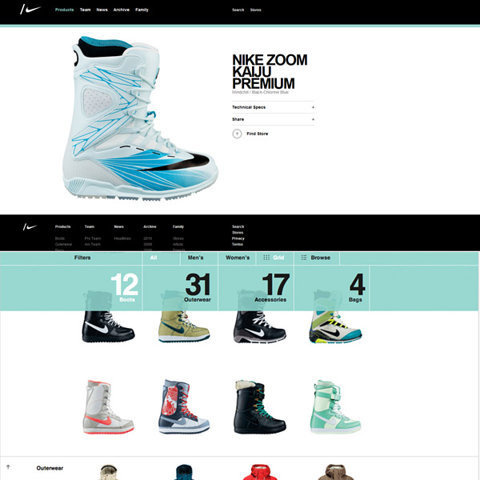 Nike, Just do it Webdesign ! webdesign #website