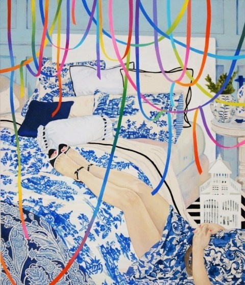 Naomi Okubo | PICDIT #pattern #design #color #painting #art #colour