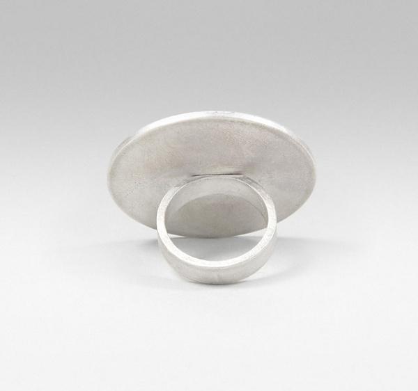 Modjool - Contemporary Modular Jewellery — Circle Ring #silver #circle #jewellery