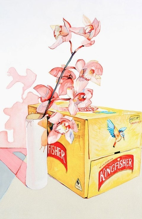 Julian Meagher | PICDIT #design #painting #art #flower #watercolor