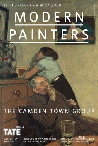 Modern Painters — The Camden Town Group #modern #paint #typography