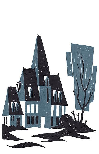 Mansion #illustration #sir franagan