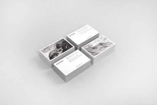 Hunt Studio (Identity) - Hunt Studio | Multi-disciplinary design studio | Melbourne #monochrome #card #print #business