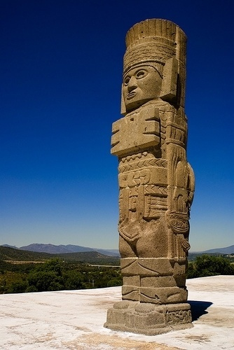 Tula, Mexico #mexico #statue #tula