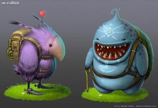Monster Concepts - Randis #fantasy #concepts #illustration #magic #monster #creature