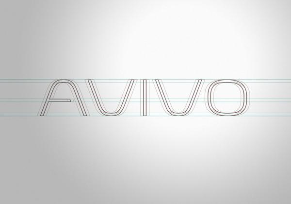 Avivo Corporate Identity #logo #design