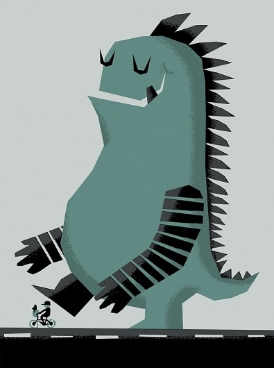 Shop: New: Leroy C. - Stomp #illustration #invisible #creature
