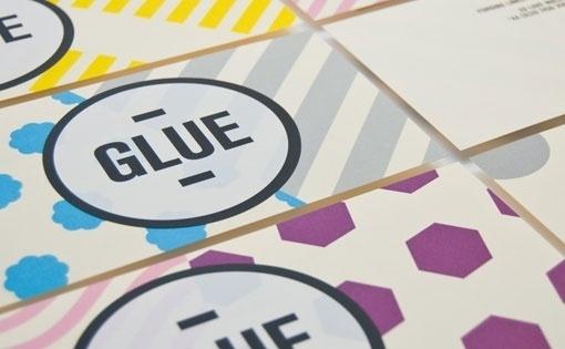 Design Work Life » Magpie Studio: Glue #brand #stationary