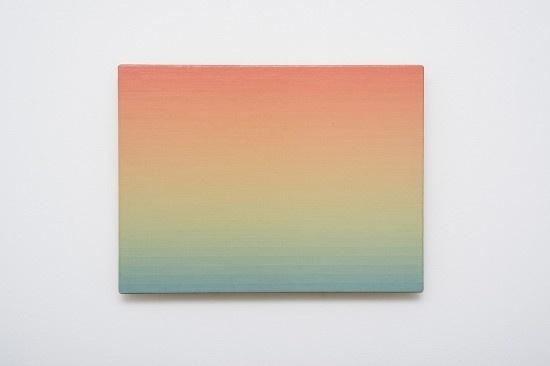 Norman Zammit #pink #blue #paper #gradient
