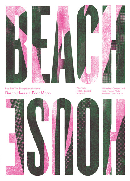GigPosters.com Beach House Poor Moon #poster #beach house