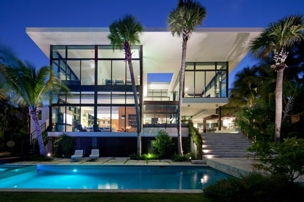 Coral Gables Residence by Touzet Studio #architecture #house