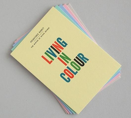 Creative Review - That's Impressive: promoting letterpress #postcard
