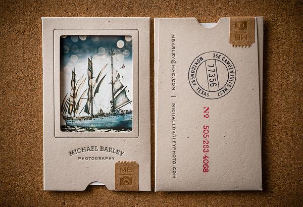 Michael Barley Business Card #business #card #photography #logo #photographer