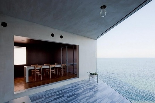 Design upcomers: Minimalist dream house in Japan #design #architecture #minimal #table