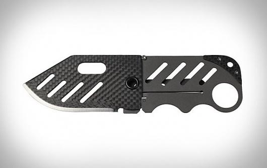 Creditor Carbon Fiber Money Clip Knife | Uncrate #design #clip #industrial #knife #money