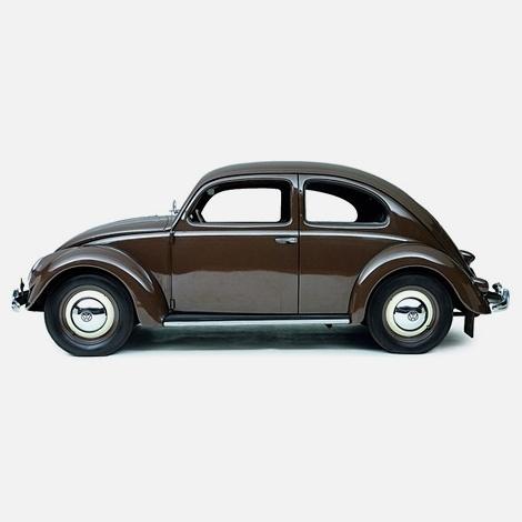 Creative Collider #design #beetle #brown #vintage #car