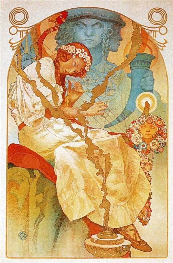 10 Famous Alphonse Mucha Paintings #alphonse #mucha #paintings