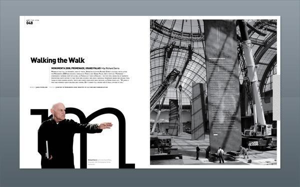 Modern Design Magazine 13 on Editorial Design Served