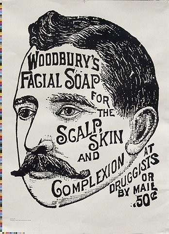 Vintage Grooming product ad #advert #vintage #moustache