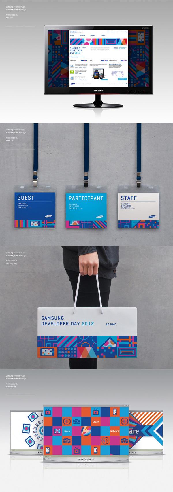 Samsung Developers Brand eXperience Design on Behance #11