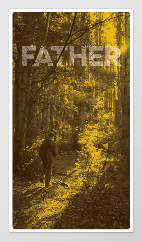 Father's Day 2013 #outdoors #card #print #woods #father #photography #nature #sunrise #type #dad