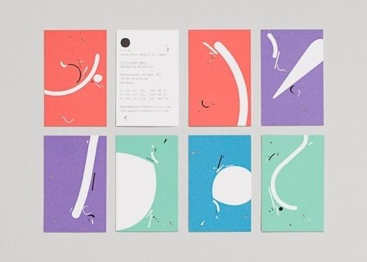 HORT / Bench.li #corporate #visitenkarten #design #colour