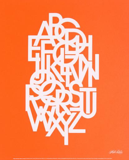 Baubauhaus. #type #print
