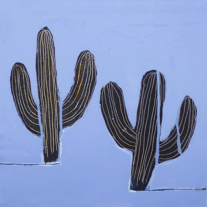 drift on gino belassen – cactus / contemporary painting