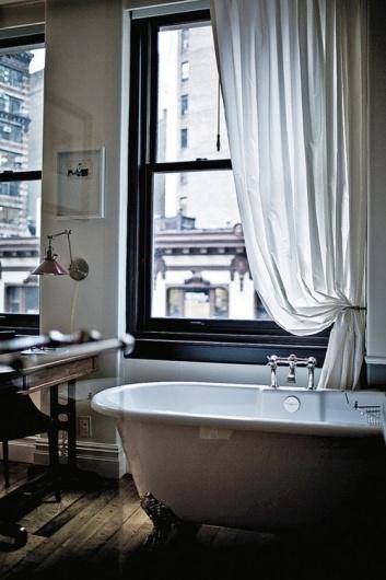 The Black Workshop #interior #design #bathroom #deco #decoration
