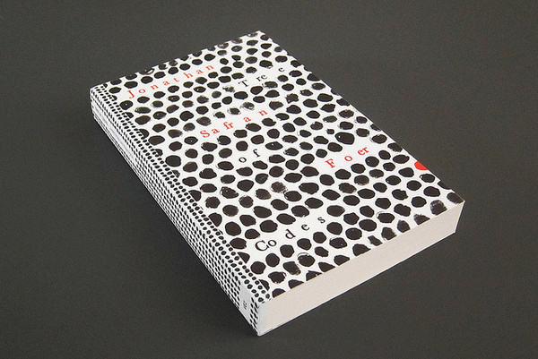 Tree of Codes written by Jonathan Safran Foer #print #design #graphic #book #books #covers #editorial #typography