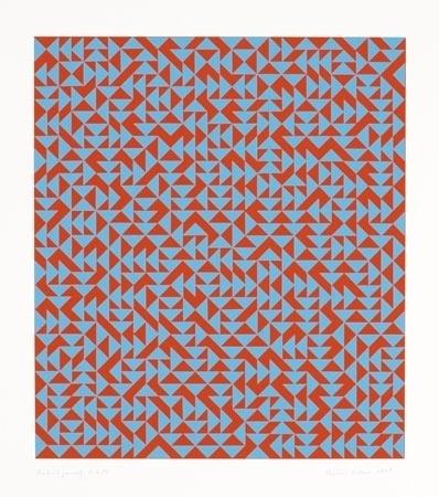 The Josef & Anni Albers Foundation #anni #1969 #screenprint #geometric #albers