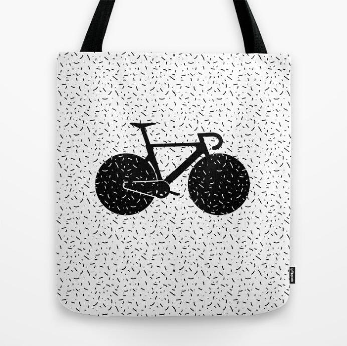 Track Bike by Rickard Arvius #bicycle #bike #trackbike #fixie #fixedgear #artprint #flatdesign #rickardarvius