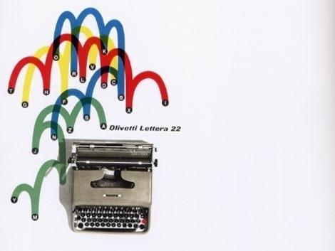 grain edit · Giovanni Pintori : exhibition catalog of design for Olivetti #olivetti #design #graphic #italian #typography