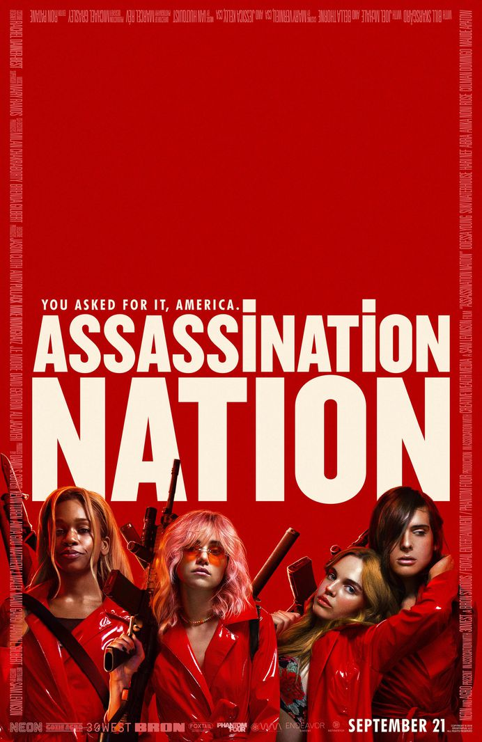 Extra Large Movie Poster Image for Assassination Nation (#3 of 3)
